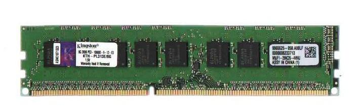 8GB PC3-10600E DDR3 1333MHz ECC Unbuffered