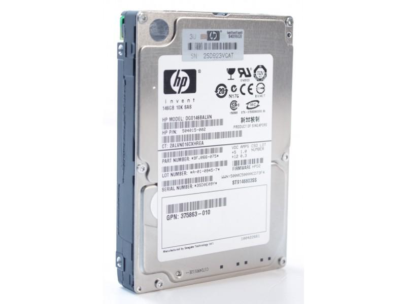"HP 2,5"" 146GB 10K SAS SinglePort HDD"