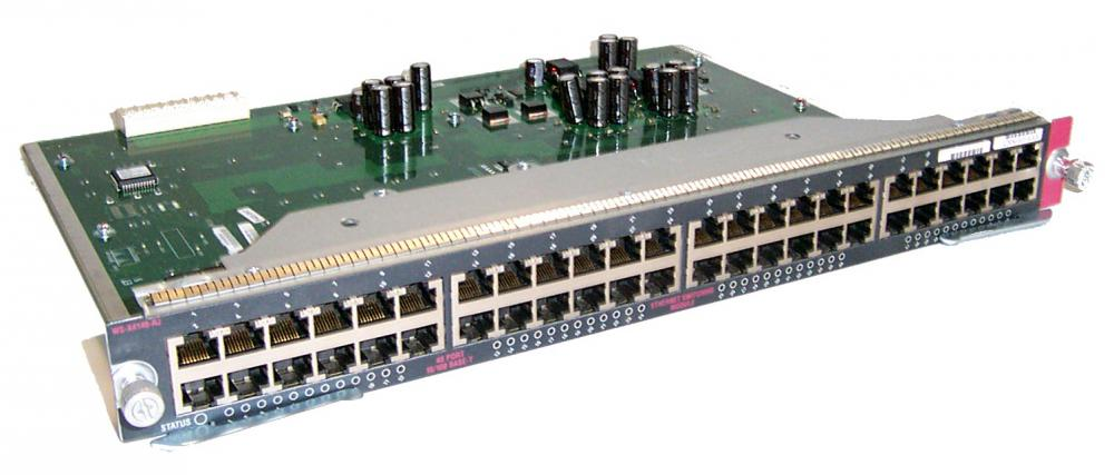 CISCO WS-X4148-RJ 48 PORT 10/100 BASE-T
