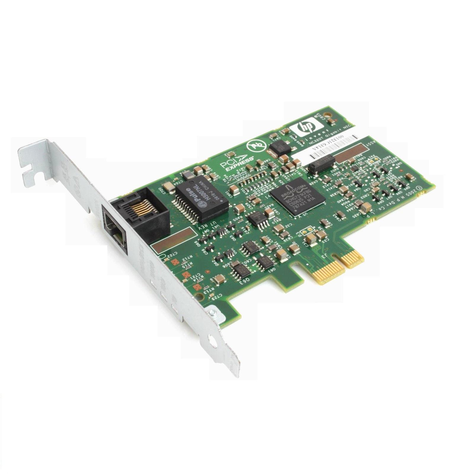 HP NC320T PCI Express Gigabit Server Adapter