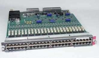 CISCO WS-X6548-GE-TX 48 PORT 10/100/1000 BASE-T GE