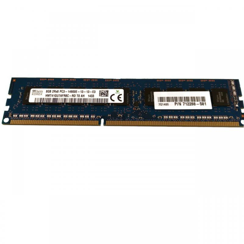 4GB PC3-14900E DDR3 1866MHz ECC Unbuffered