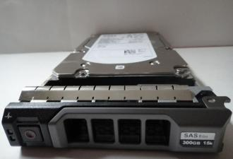 "DELL 3,5"" 300GB 15K SAS 6G HDD +CADDY"